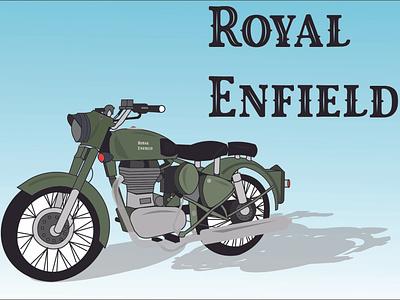 Royal Enfield Illustration royalenfield art illustration design vector design illustration