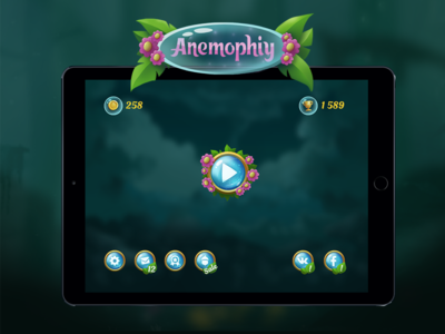Anemophily (fake game UI)