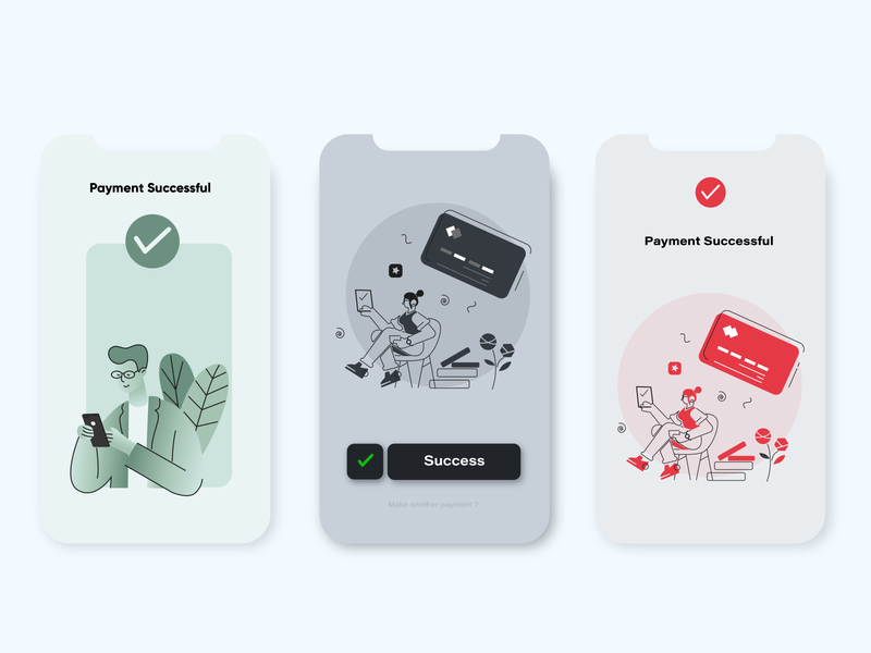Payment Screen app design vector app ux typography payment app flat illustration illustraion cards ui ui