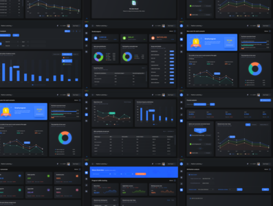 Analytics Dashboard UI Kit