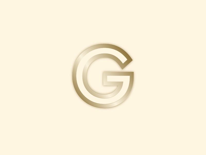 #Typehue Week 7: G san serif typography clean gradient gold