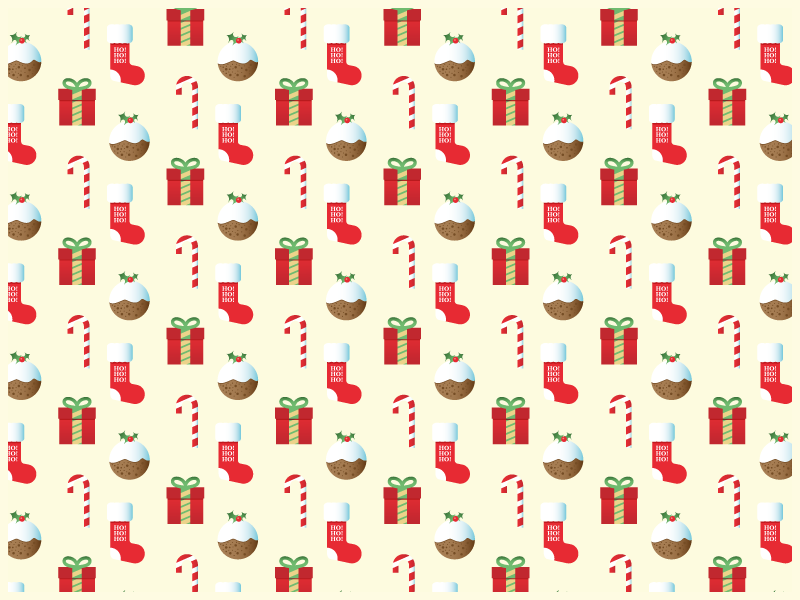 #Typehue Wrap Up paper pattern illustration giving holidays christmas xmas traditional present stocking candy pudding