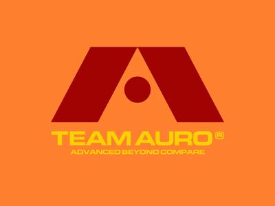Race Team Logo icon symbol simple gaming eurostile lettering typography vector branding design retro future speed logo