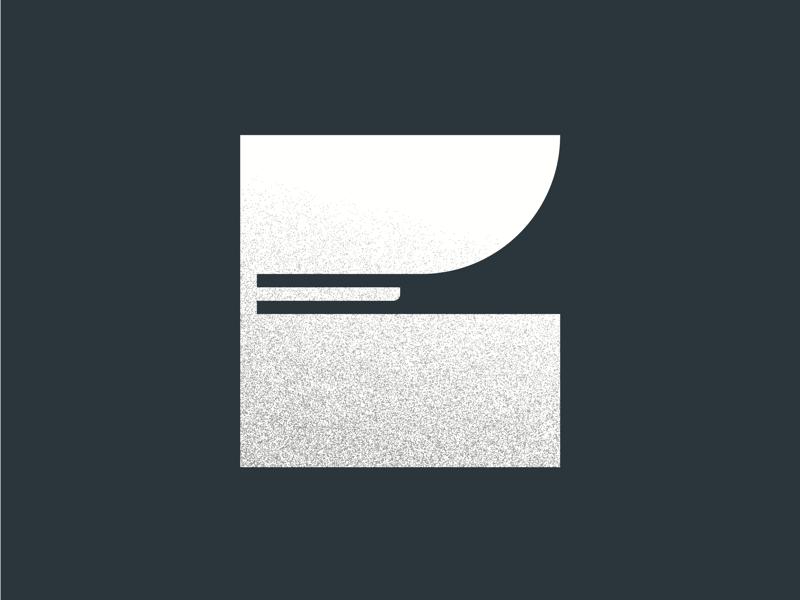 E - 36 days of type illustrator illustration design texture grain brand logo font custom letter lettering type typography