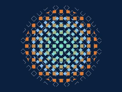 Pattern design artwork outline fragment clean image burst optical circle colour bold illustrator art illustration pattern lines gradient shapes
