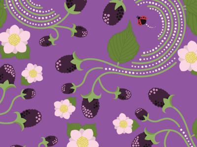 Blackberry Pattern