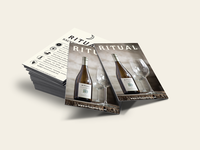 Ritual Wine Wait Staff Cards