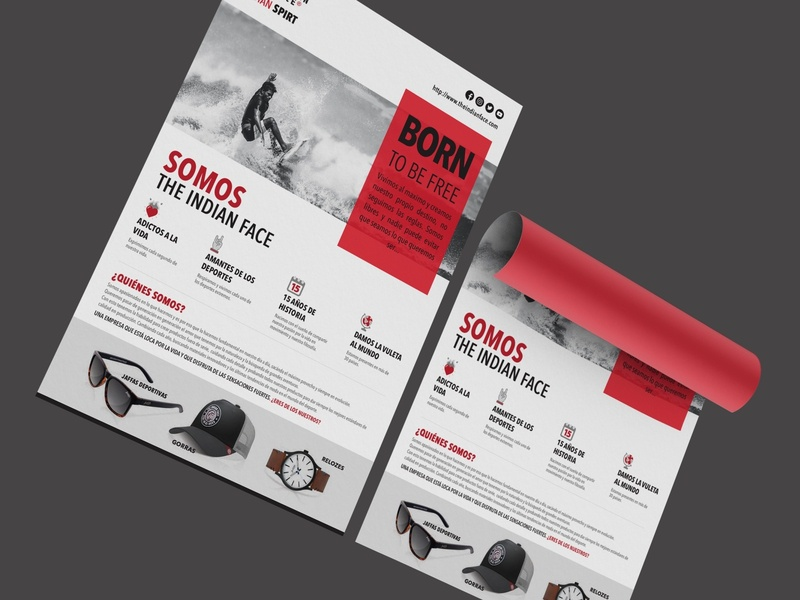 Clean Modern Flyer Design 2020 animation ios vector dashboard ux illustration ui design landing mobile ui design branding