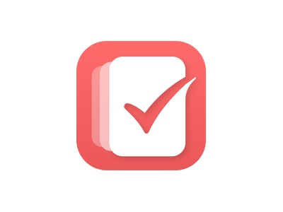 Life Lists App red task iphone check to-do to-do app list app lists app