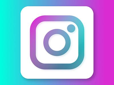 Alt Instagram Icon branding app ios instagram icon