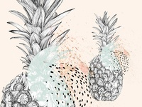 Graphic ananas