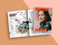 Shark illustrations for ARTE magazine 01/16