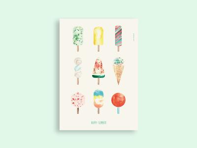 Icecream print