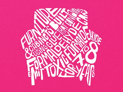 Type Chair Poster
