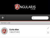Simple Angularjs App