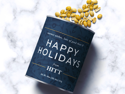 Holiday Package Design labels package mockup package design happy holidays pattern client packaging tin can holiday design packagedesign