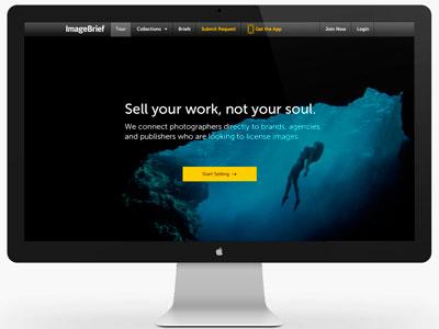 ImageBrief: Photographer Landing Page