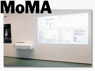 I Went to MoMA And... Installation
