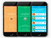 Drafted: Pick-up Games in a Tap