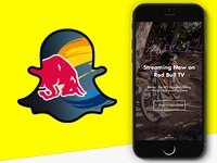 Red Bull TV on Snapchat Discover