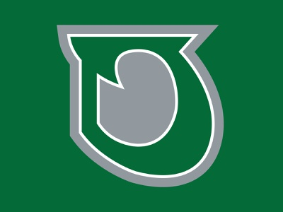 36 Days of Type: D design typography dropcap lettering branding illustration digital sports logo football goodtype vector typespire