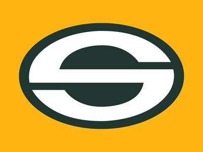 36 Days of Type: S 36daysoftype19 36daysoftype type vector goodtype nfl packers football sports logo illustration branding green gold lettering digital dropcap typography design