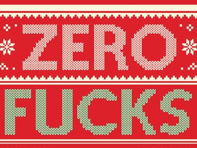 Zero Fucks of Giving