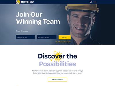 Morton Salt Careers - Web Design