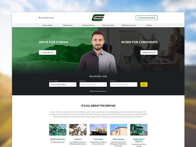 Cowan Careers - Web Design