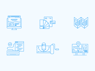 Design Services Icons