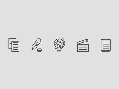 Publishing & Media Icons