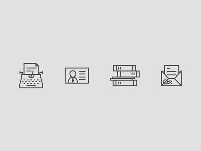 Additional Publishing & Media Icons