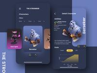 The Stronger App UI Kit