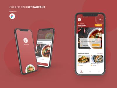 Food Member Concept - Mobile App