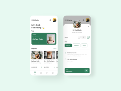Coffee App - UI Exploration