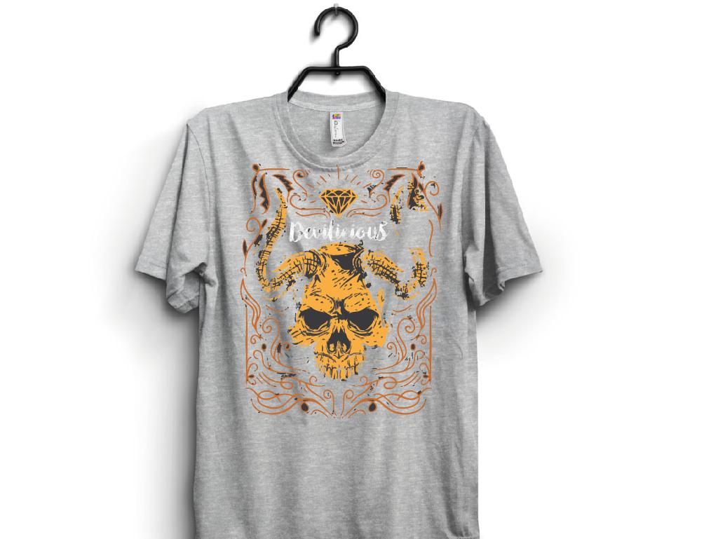 Devil T-shirt Art tshirt art graphicdesign vector illustration