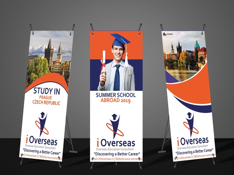 Standees unique graphicdesign educational standee