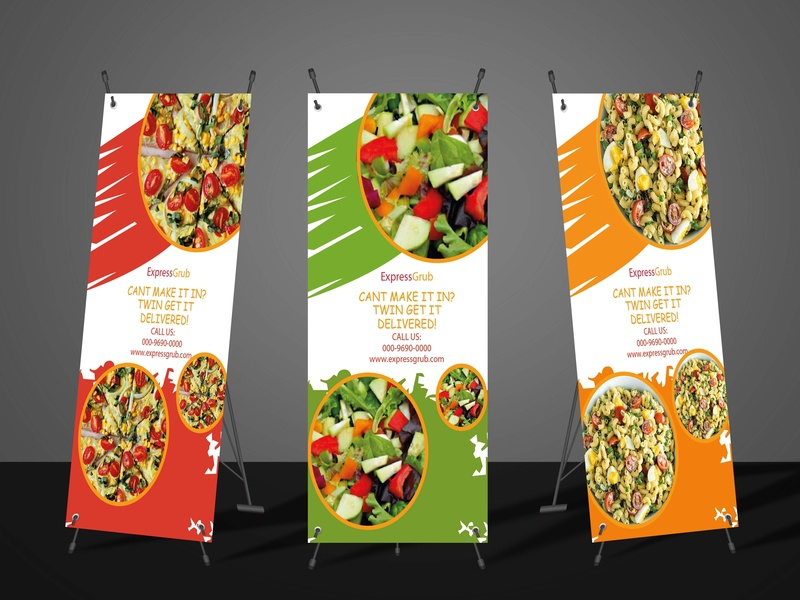 food standee graphicdesign standee