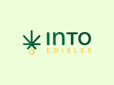 Edibles Brand Identity weeds brand weed marijuana logo marijuana sanserif minimalist logo minimalism wordmark logo vector typography illustration branding brand identity brand design typeface logodesign wordmark logo