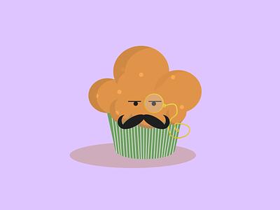 English Muffin shapes designer muffins uk british baker bakery logo bakery muffin design illustrator vector illustration