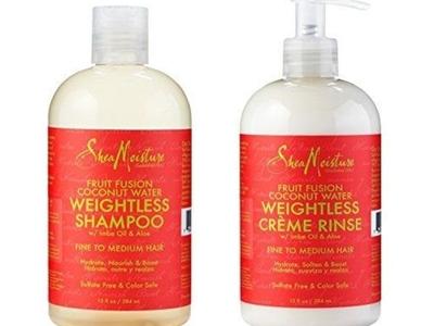 Shea Moisture Fruit Fusion Coconut Water Shampoo Conditioner