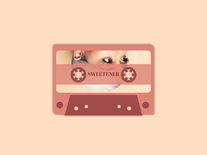 Cassette series B vector illustration design