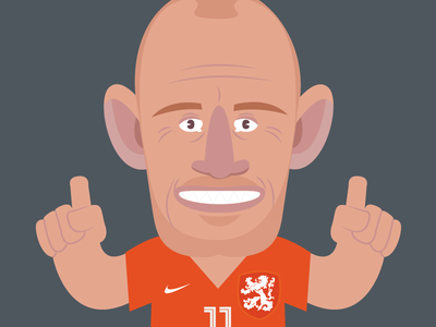 Road to World Cup  worldcup soccer football holland netherlands robben speed vector
