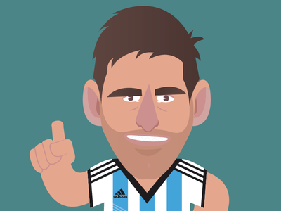 Road to World Cup  argentina adidas football soccer messi star worldcup