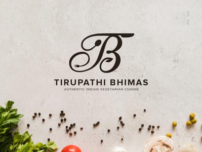 Tirupathi Bhimas Logo minimal logos logoshape branding design logo