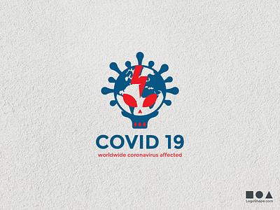 COVID19 flat vector logoshape illustration design logo illustrator icon washyourhands stayathome coronavirus covid corona