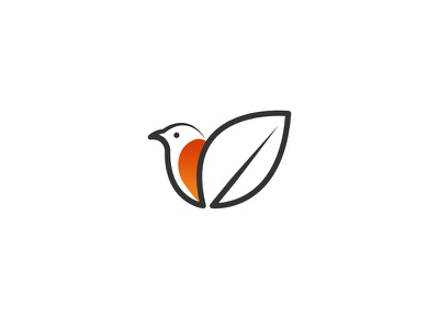 Monoline bird! vector minimal illustration logos flat logoshape branding logo icon illustrator