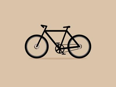 Bicycle minimal vector logos logoshape branding illustration design logo icon illustrator
