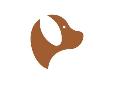 Dog Symbol flat vector logos logoshape branding illustration design logo icon illustrator