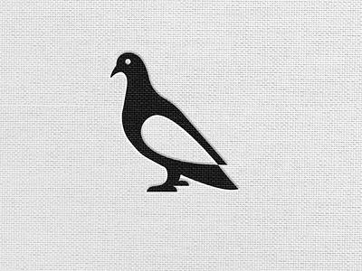 Pigeon Bird Logo flat minimal logos logoshape branding illustration design logo icon illustrator